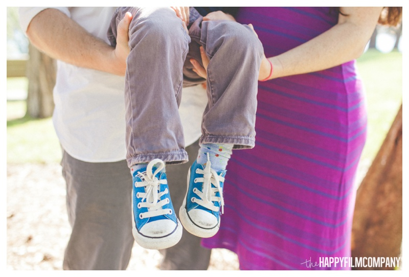 converse shoes for family photos - the Happy Film Company - Mercer Island Family Photos