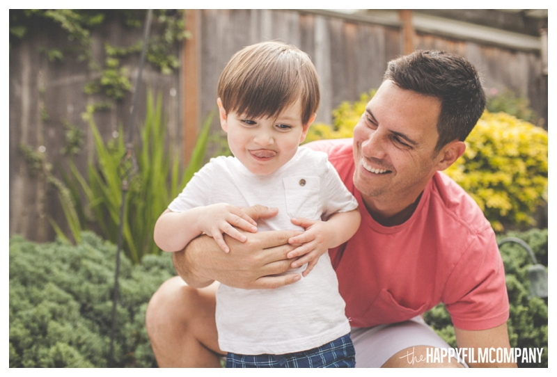 father son photo - the Happy Film Company - Seattle Family Photographer