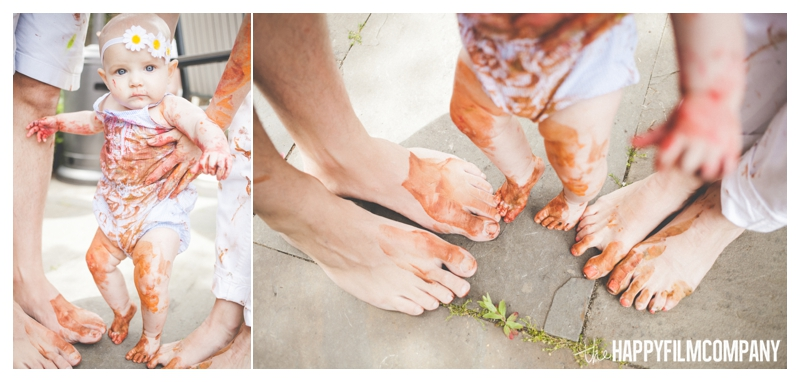 family photography painting  - the Happy Film Company - Seattle Family Photographer
