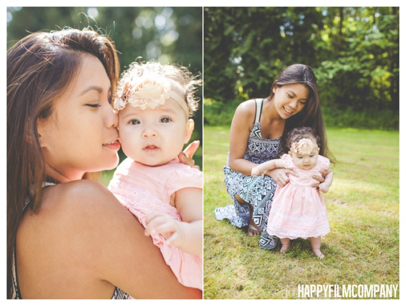 Newborn photography for Mothers's day - the Happy Film Company - Seattle Family Photography