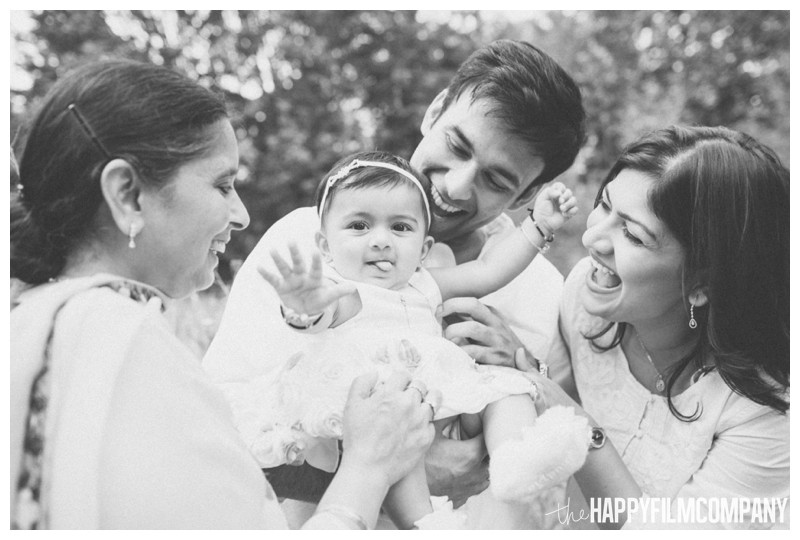 Black and white family photos - the Happy Film Company - Seattle Family Photography