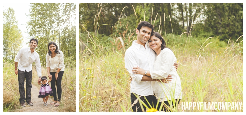 family photos in a field  - the Happy Film Company - Seattle Family Photography