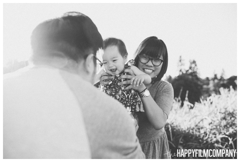 cute black and white laughing picture  - Seattle Family Videography - Sandpoint Family Photography - the Happy Film Company