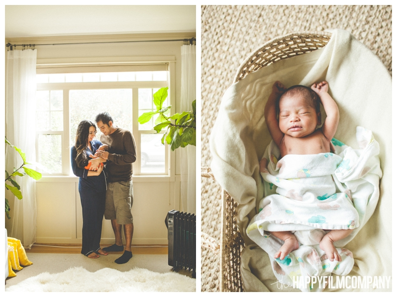lifestyle newborn family photography at home  - the Happy Film Company - Seattle Newborn Photos at Home