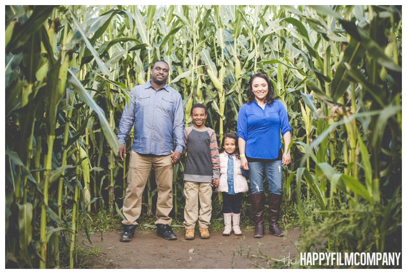 family christmas photos  - Seattle Family Holiday Photos - The Happy Film Company - Seattle Family Portraits in Corn Maze