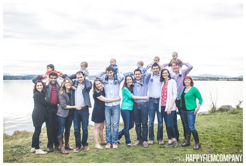 Matthews Beach group family photos - the Happy Film Company - Seattle PEPS Group Photo Shoot