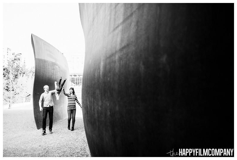 Happy family photo at the park  - the Happy Film Company - Seattle Family Photography