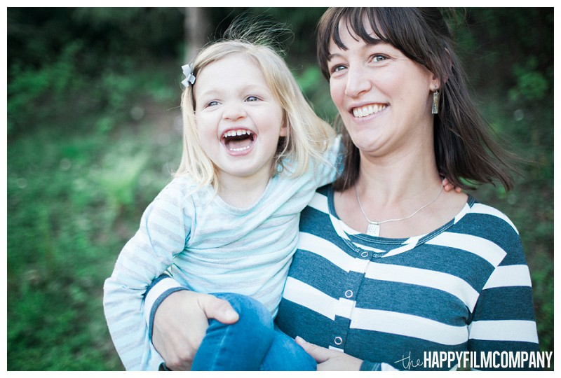 Mother and daughter photo -  - the Happy Film Company - Seattle Family Photography