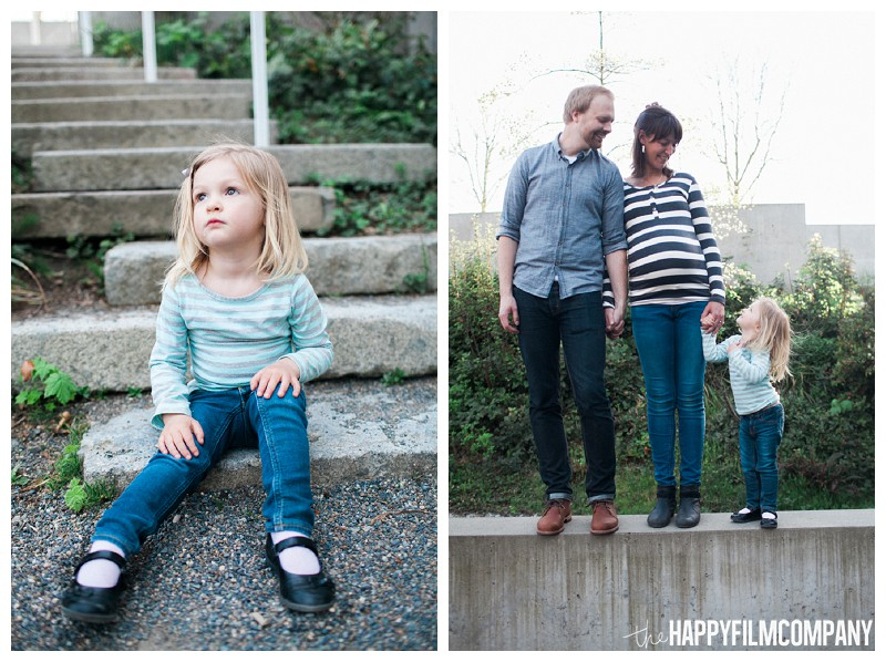 Fun family photo at the Olympic Sculpture Park  - the Happy Film Company - Seattle Family Photography