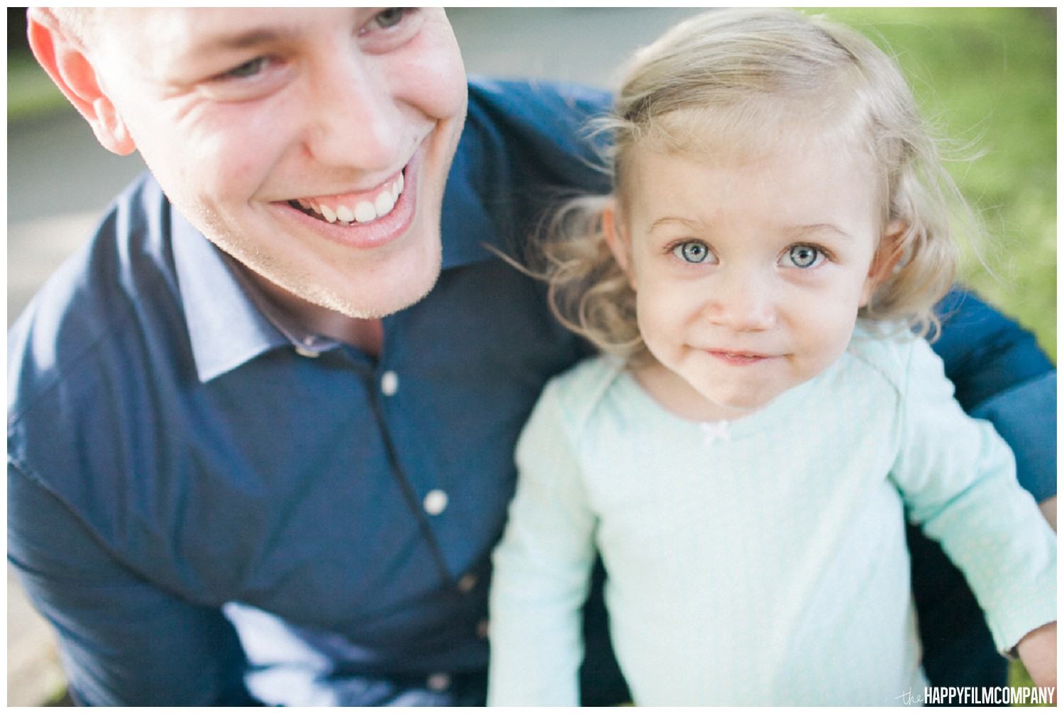 Father and daughter - the Happy Film Company - Seattle Family Photos