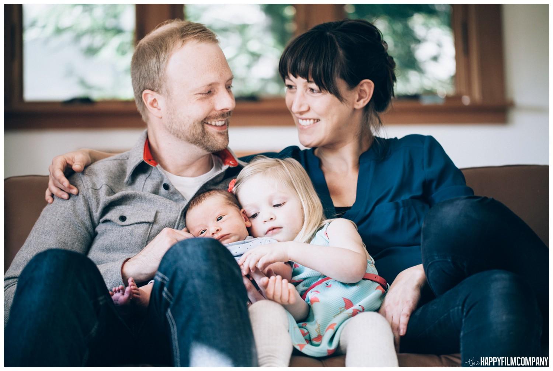 Family of 4 - the Happy Film Company - Seattle family photos