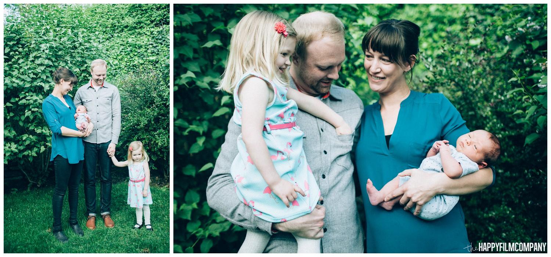 In the garden family photos - the Happy Film Company - Seattle family photos