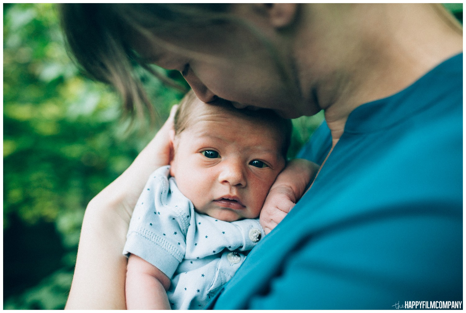 Mom and newborn baby - the Happy Film Company - Seattle family photos