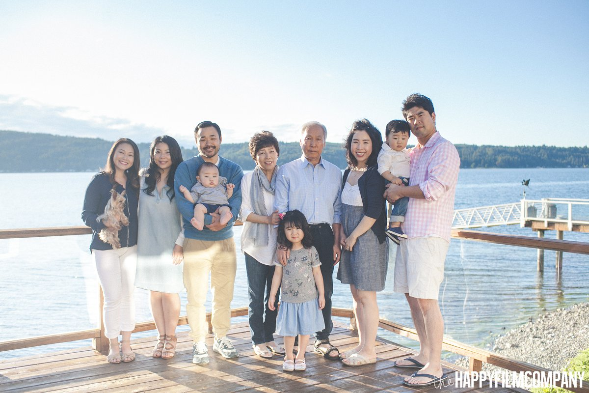 Happy Family Photography Session at the Hood Canal - the Happy Film Company - Seattle Family Photos
