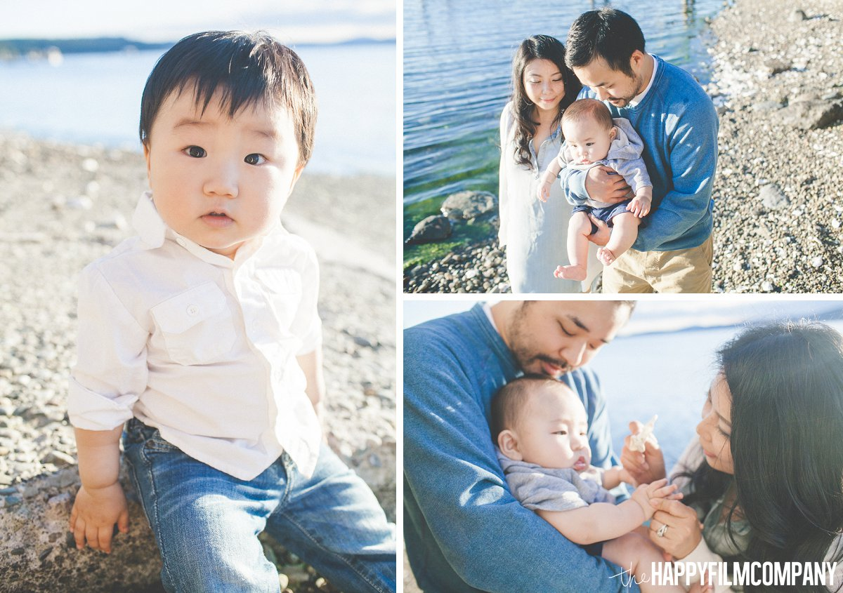 Hood Canal Family Photography Session - the Happy Film Company - Seattle Family Photos