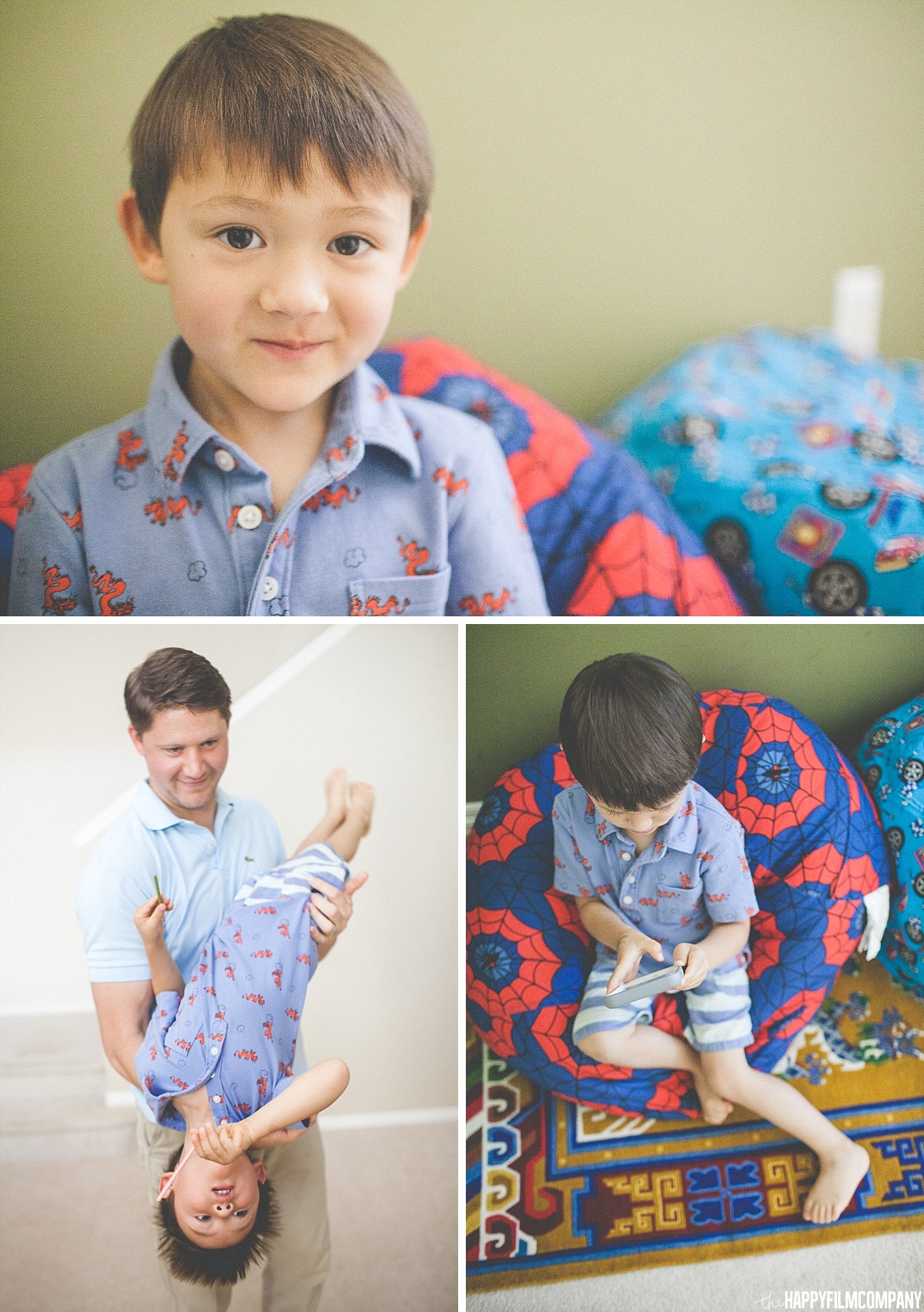 Little boy portrait - - the Happy Film Company - Seattle Family Photos