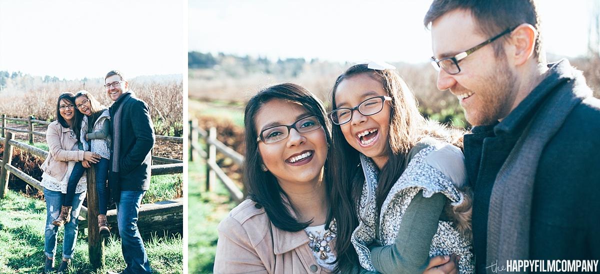 Winter Blueberry Farm Family  Photos - the Happy Film Company - Seattle Family Photos