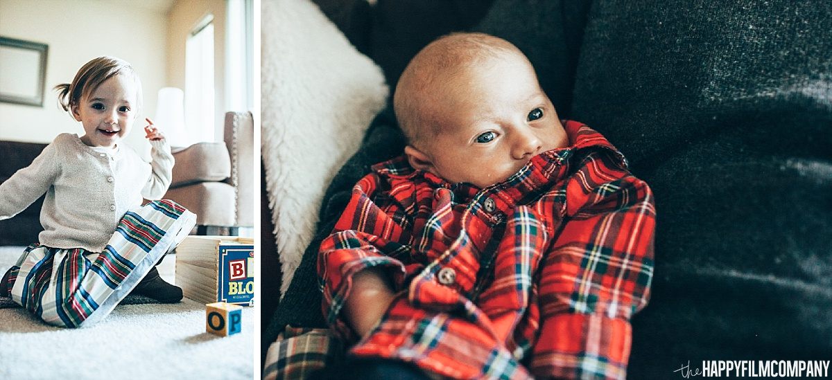 Little girl and newborn baby-  Happy Film Company - Seattle Family Photos