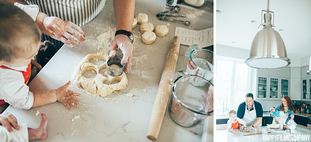molding biscuits -  the Happy Film Company - Seattle Family Photos