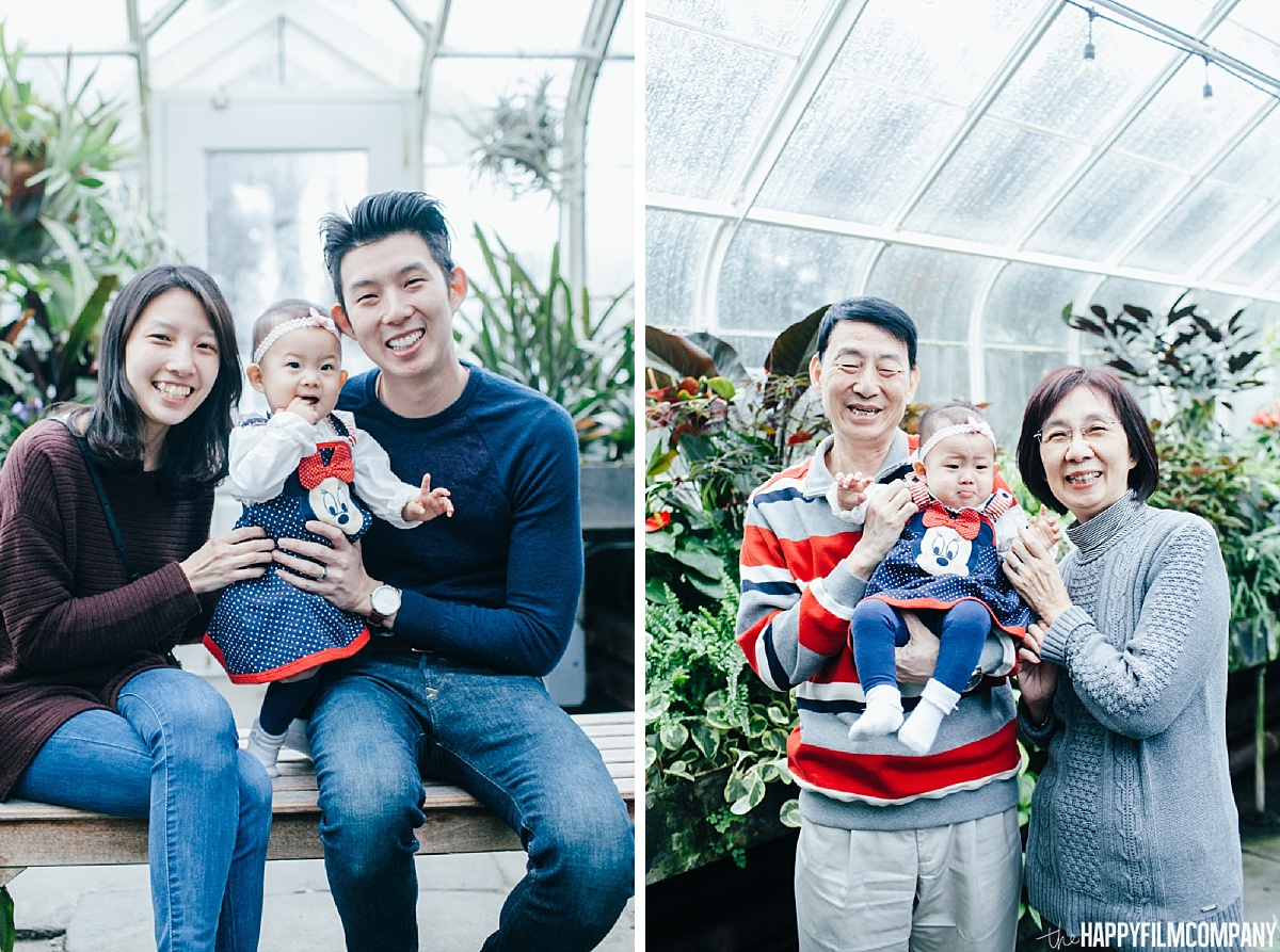 Family Photos at the Volunteer Park Conservatory - the Happy Film Company - Seattle Family Photos