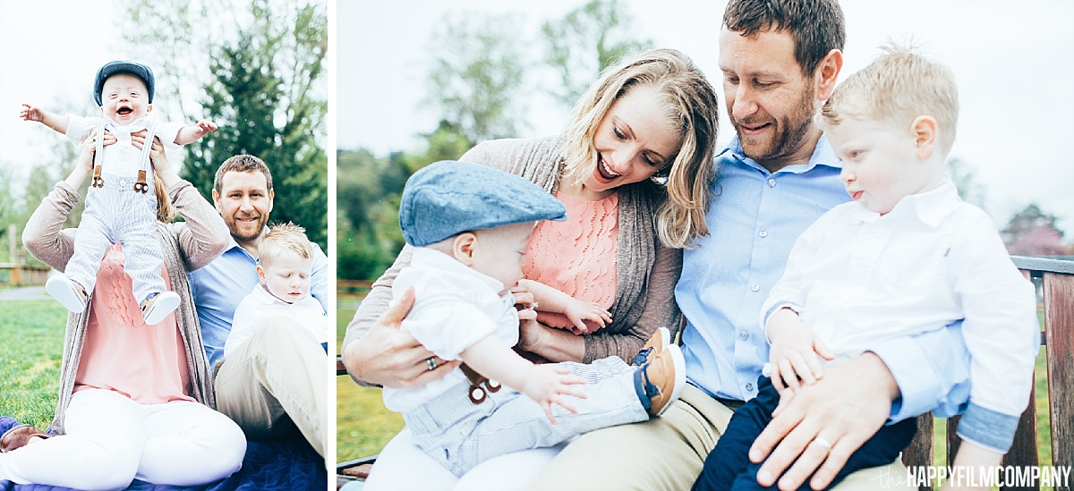 Cute family photos at Juanita Beach Park - the Happy Film Company - Seattle Family Photos