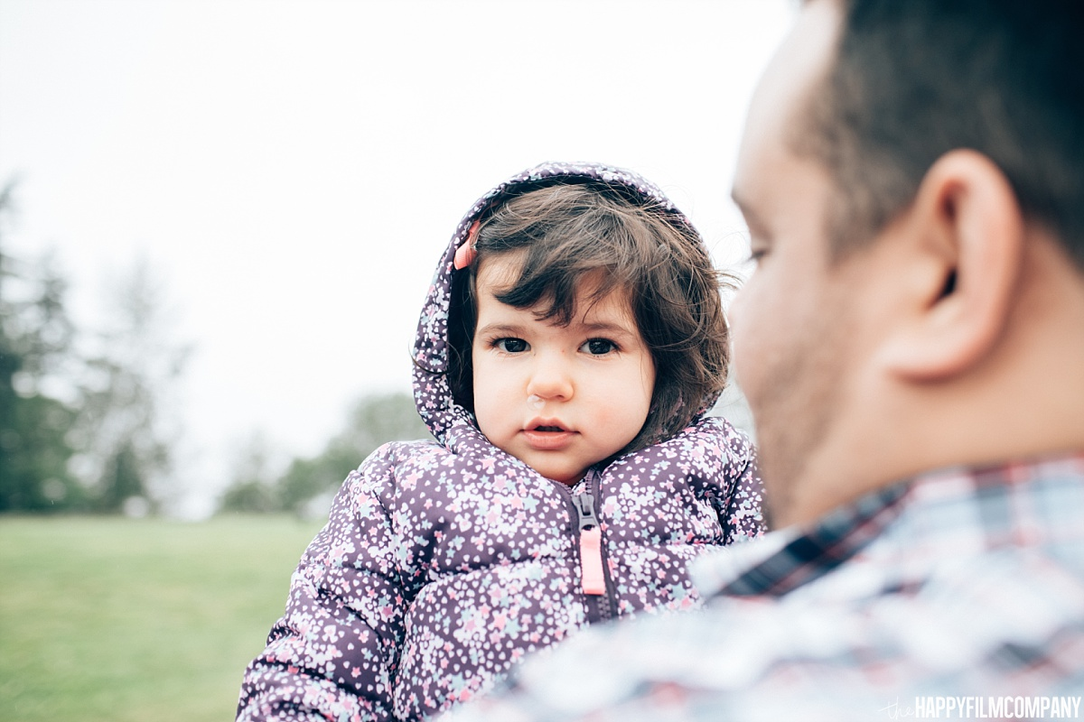 Father and daughter portrait - the Happy Film Company - Seattle Family Photos