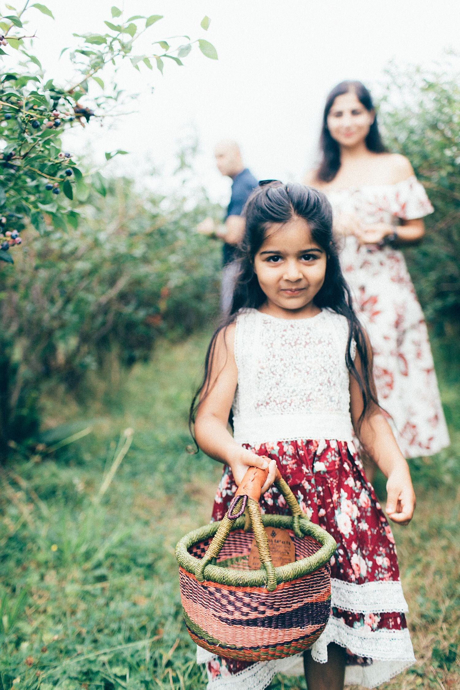 the Happy Film Company - Bybee Blueberry Farm - Seattle Family Photography - August - Indian