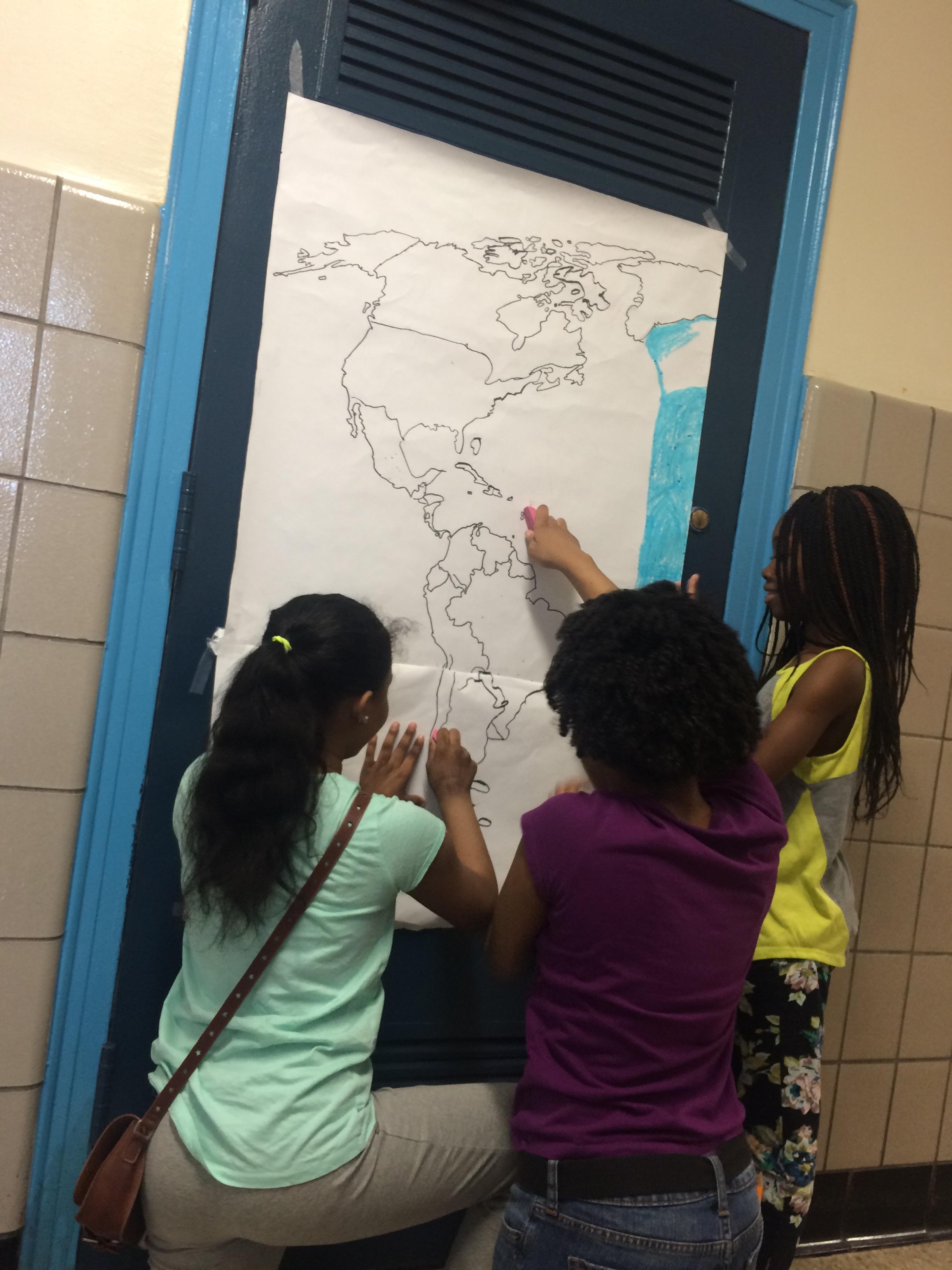 Creating the Western Hemisphere