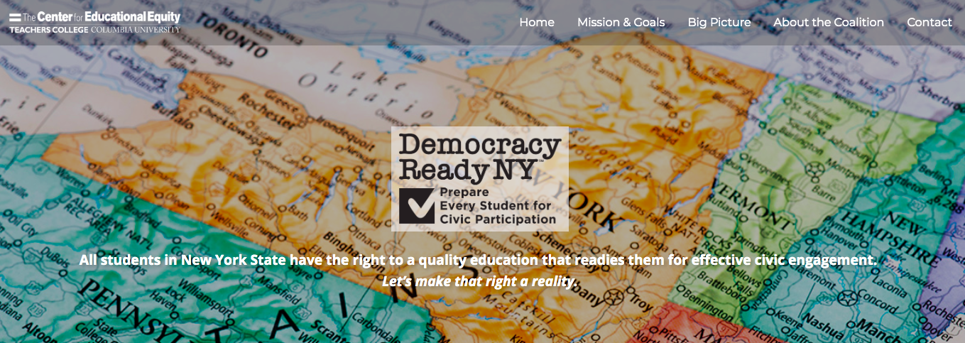 To find out more about the coalition, go to democracyreadyny.org