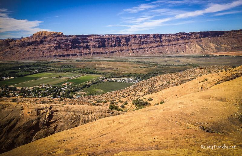 Overlooking Moab, Utah
