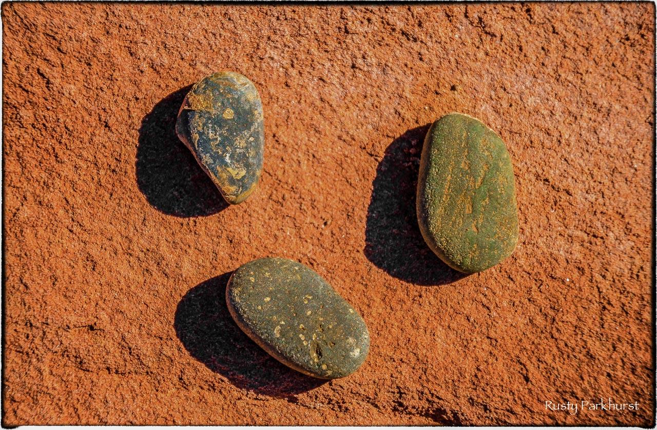 Three Stones, taken along the bank of the Colorado River