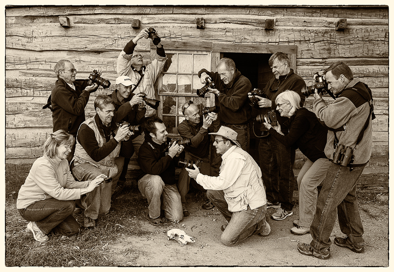 Group photo by Rick Sammon