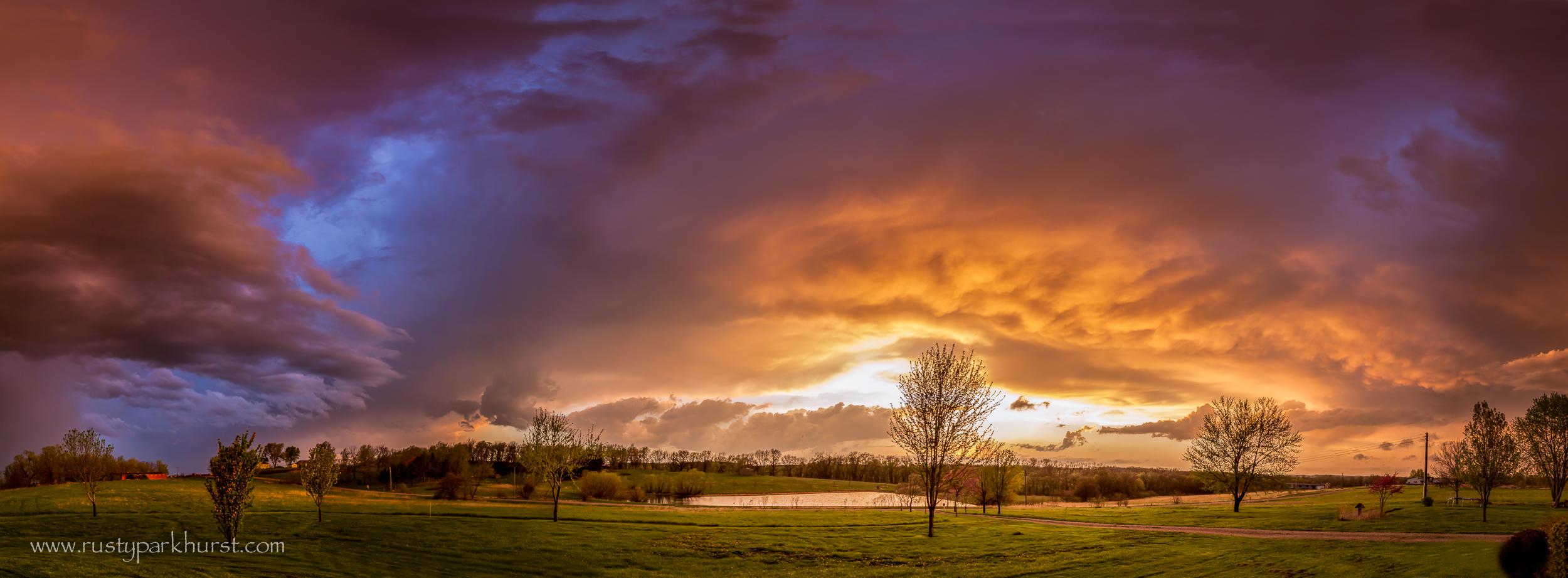 Stormy Skies Panorama