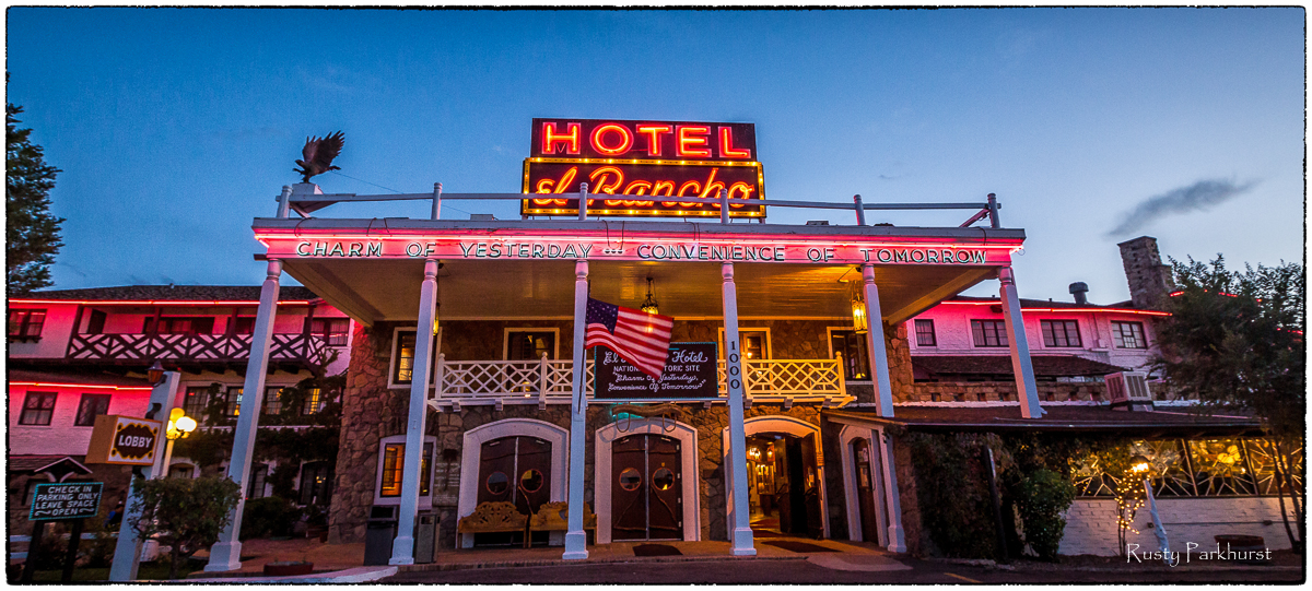 El Rancho Hotel, Gallup, New Mexico