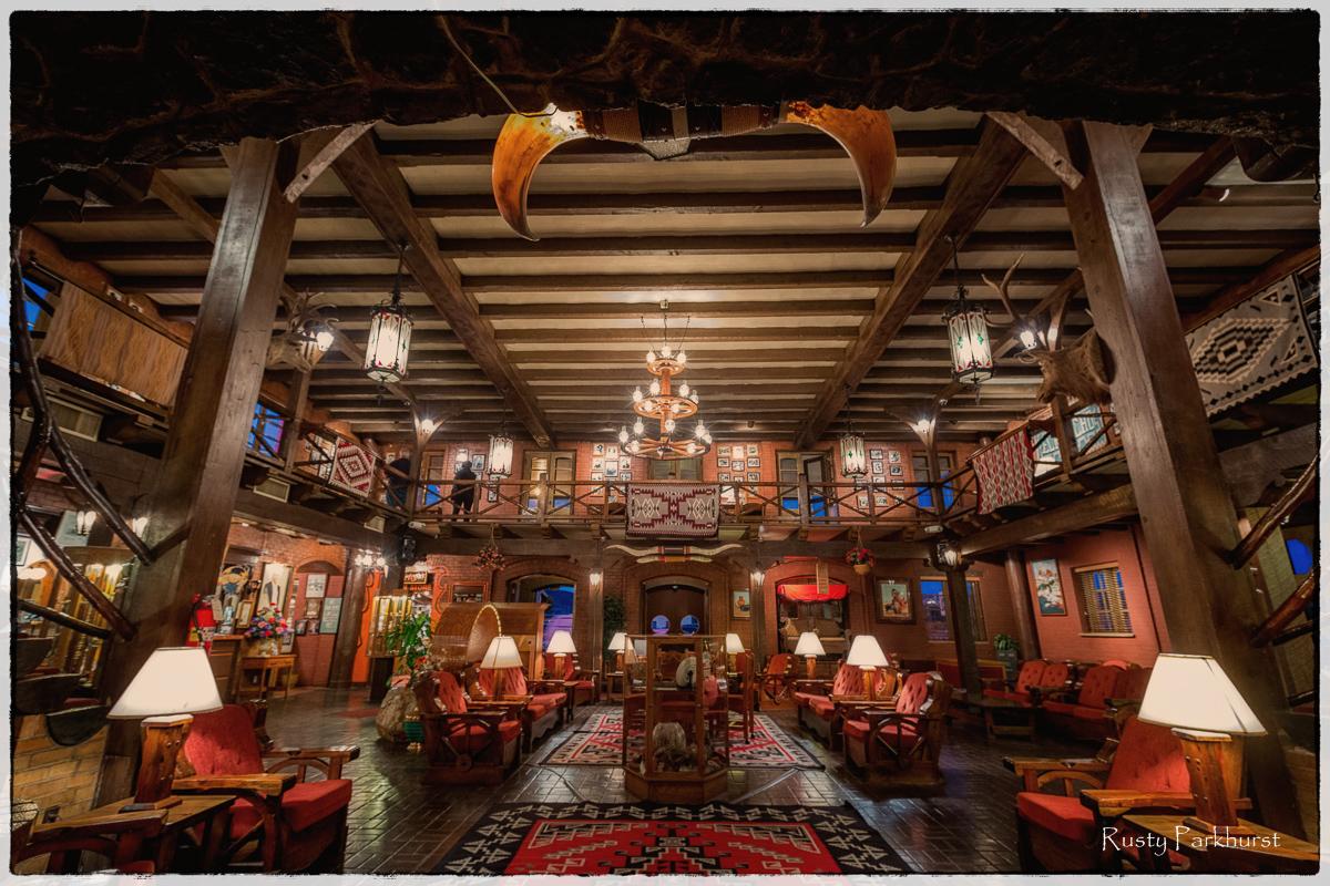 El Rancho Hotel Lobby