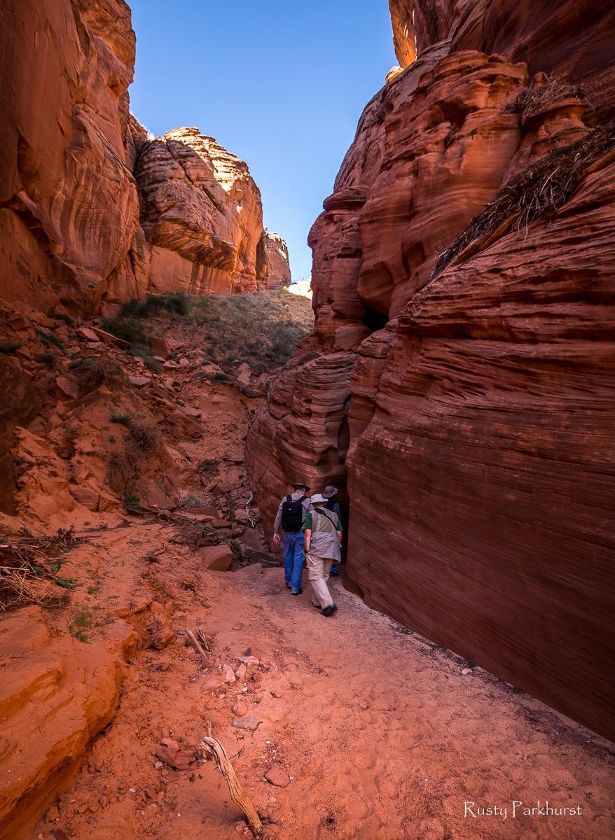 Entering Canyon X