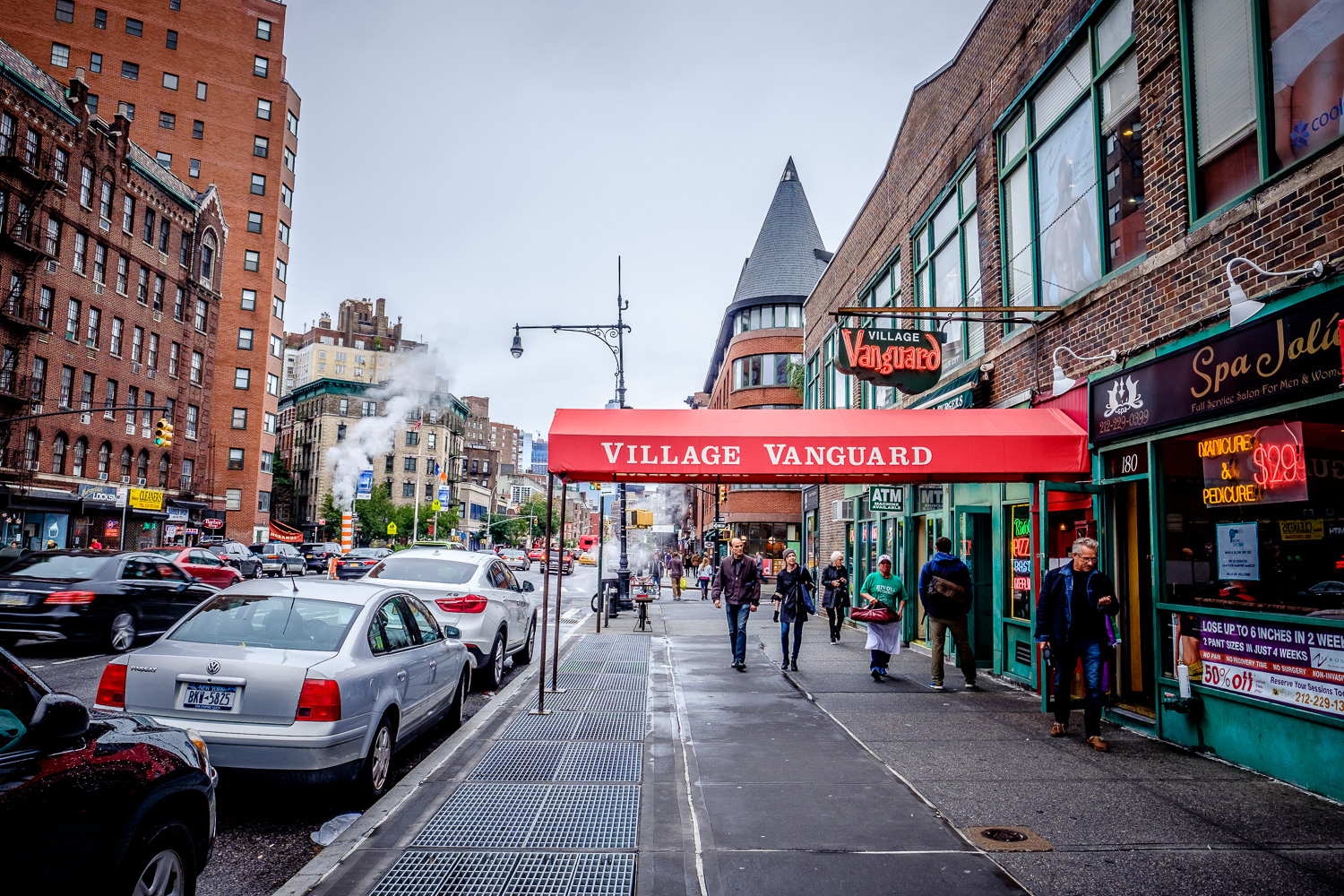 The Village Vanguard, famous jazz club in operation since 1935