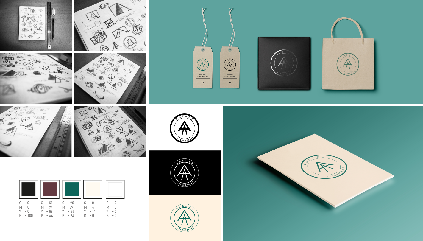Ahenze Accessories Branding