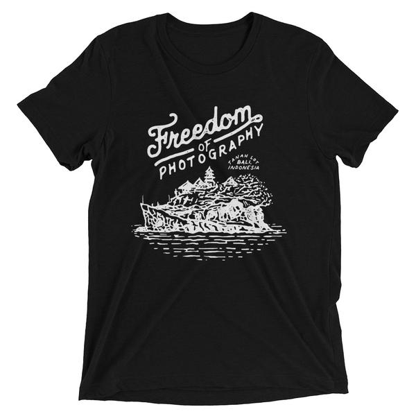 This design is inspired from my time spent in Indonesia. Tanah lot is a Hindu temple built on a rock cliff on the beach in Bali, Indonesia. Click here to see this original photo.  http://www.freedomofphotography.com/indonesia