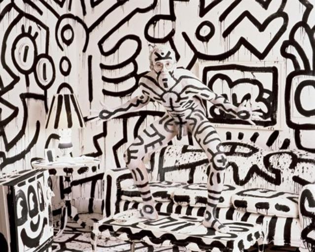 Keith Haring. 1986. Annie Leibovitz