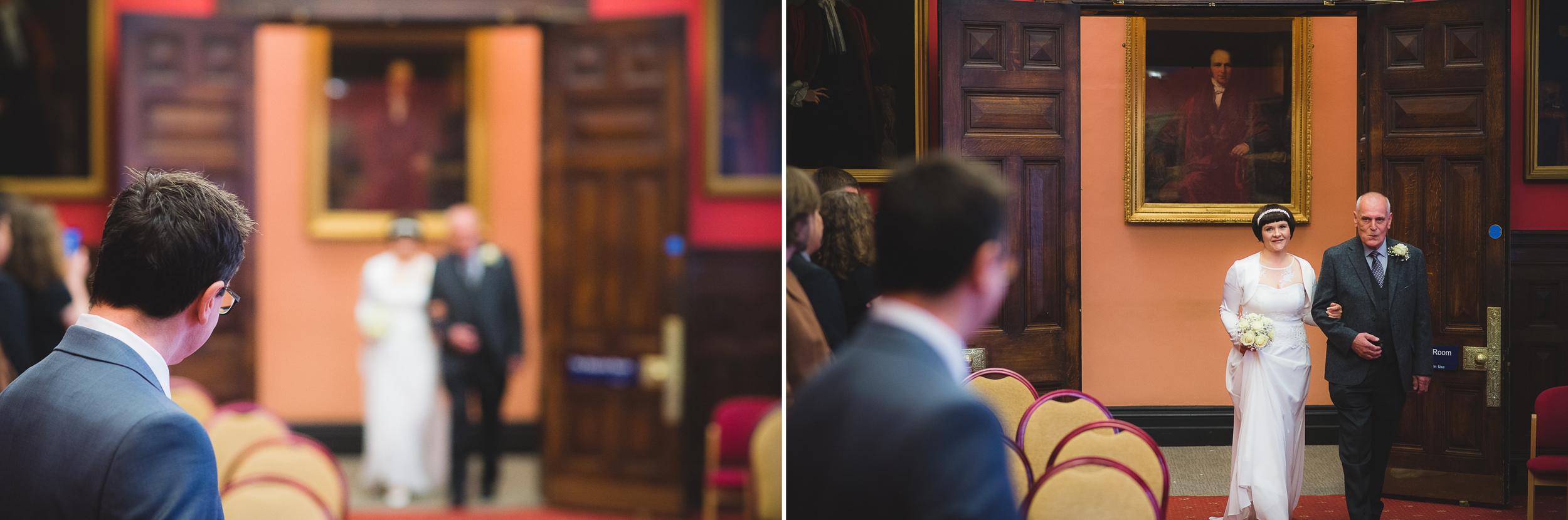 wedding ceremony at bristol registry office