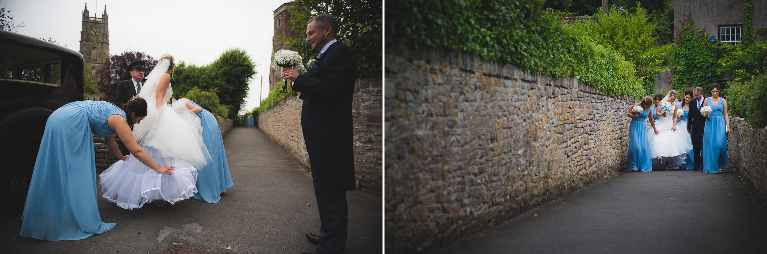 st peter's church portishead wedding