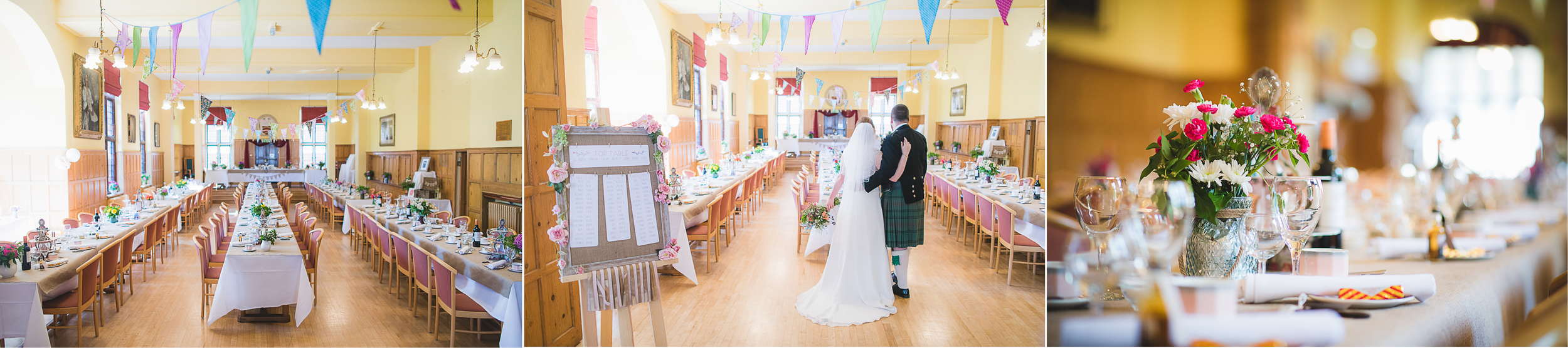 aberdare hall wedding photography