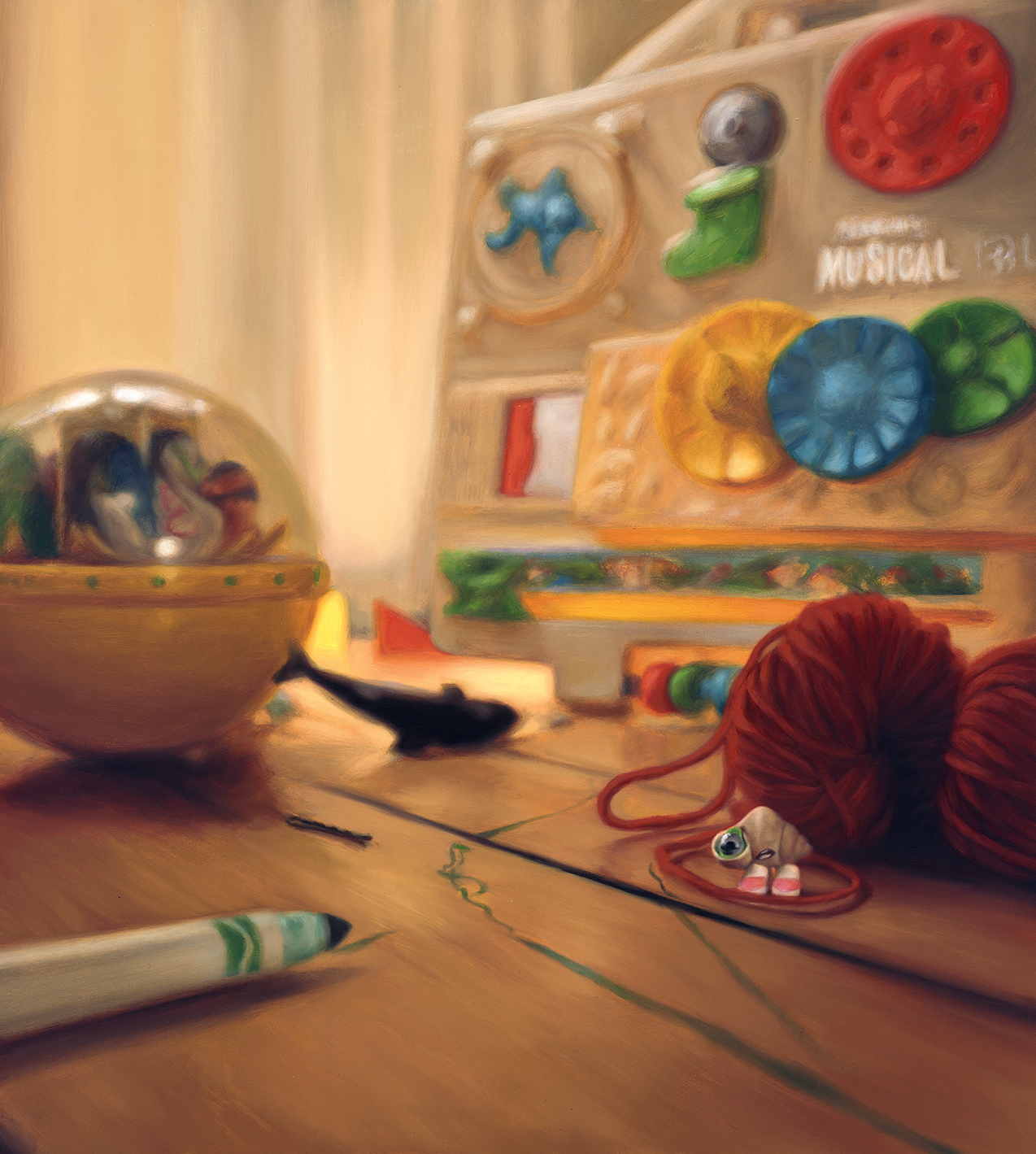 All images from thechildren's picture book Marcel the Shell With Shoes On: Things About Me © Jenny Slate and Dean Fleischer-Camp  Published by  Penguin Books    Paintings by Amy Lind