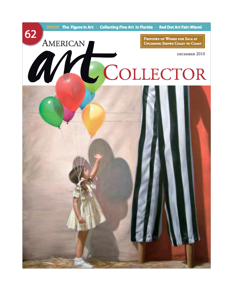 PAINTING ON COVER OF   American Art Collector   December 2010
