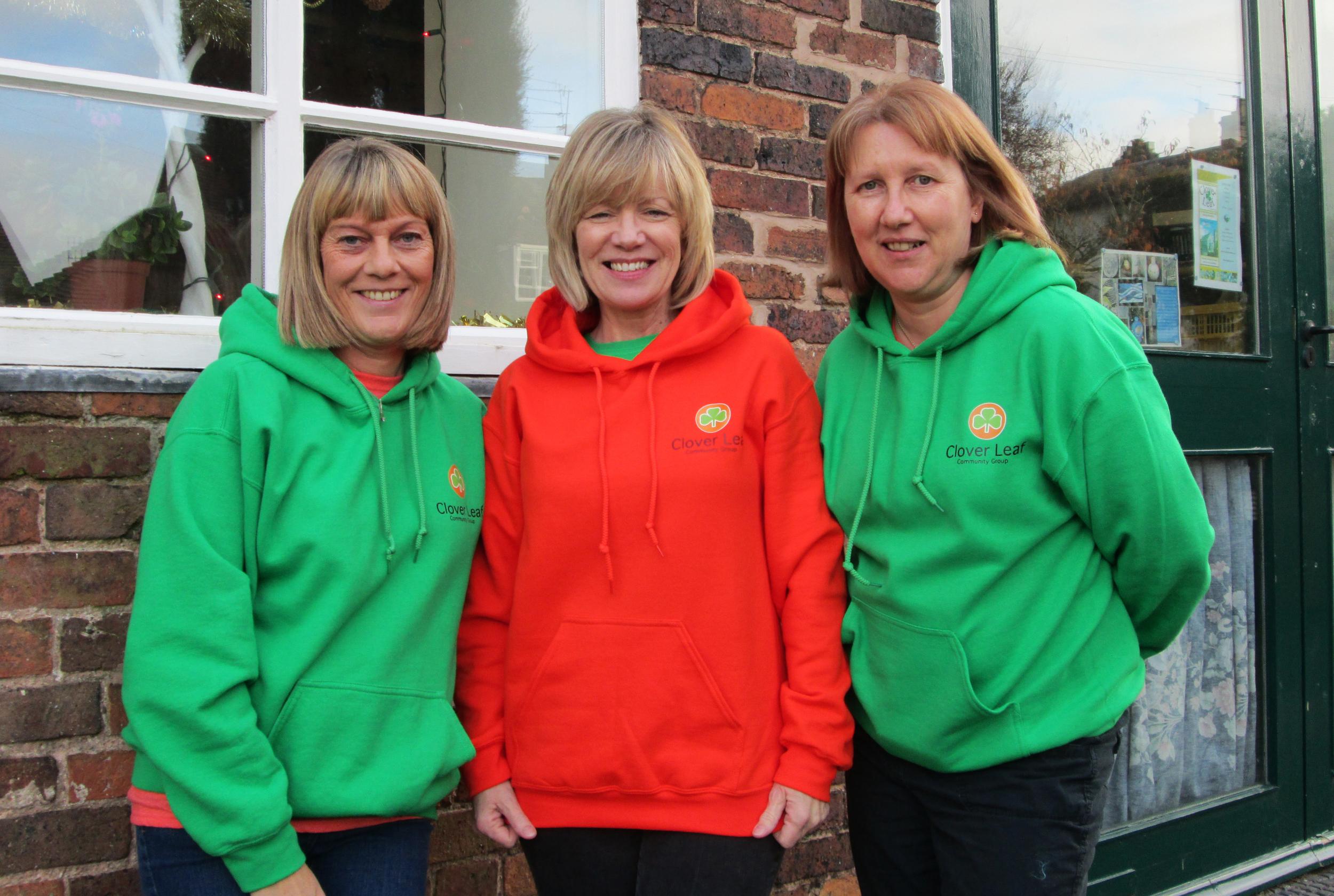Tracey, Wendy and Sharlene