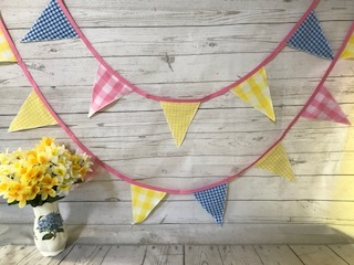 Summer bunting £10 for 4.9 metres available to order