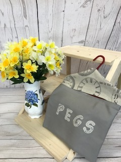 Peg bags £4.99 assorted colours