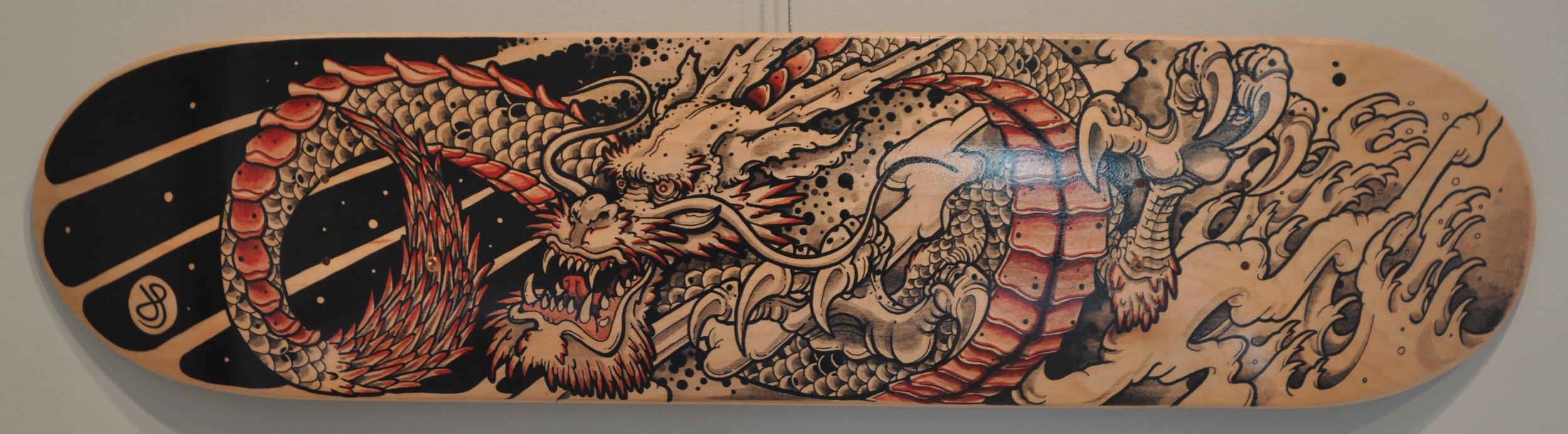 """Dragon Blood""   mixed media  - Jeremy Selzer"