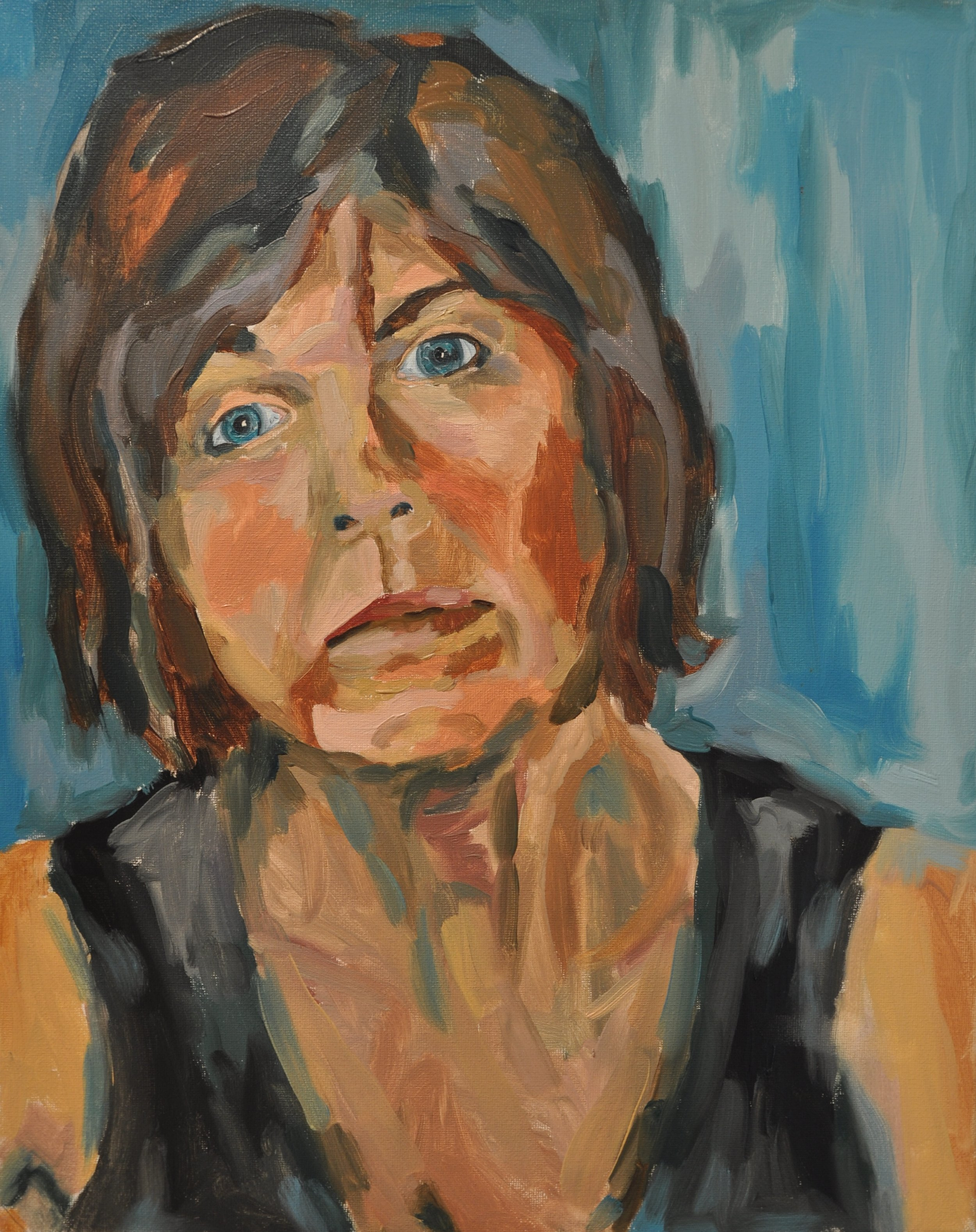 """Mamo""   oil on canvas  - Vanessa DeYoung"